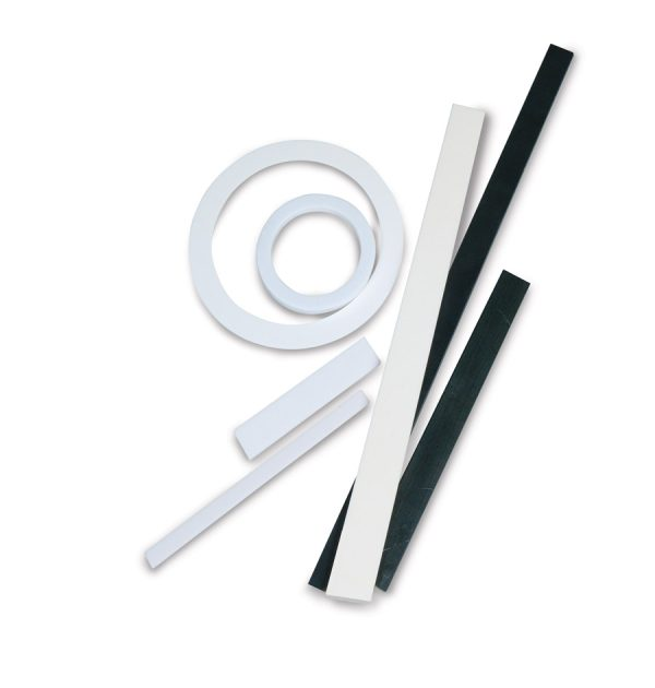Ceramic strips, rings and disks